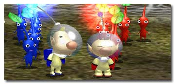 Here we see a nice variety of Pikmin.